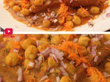 Bread Channa chaat recipe ( Chole Bread snacks)