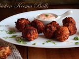 Chicken Keema Balls ~ Easy chicken starters recipe