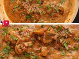 Creamy Garlic Mushroom Chicken Recipe | One Pan Chicken Recipe | chicken roast in mushroom sauce