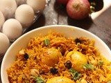 Egg Biryani recipe | How to make one-pot egg biryani