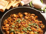 Mushroom Egg masala fry recipe | Mushroom and Egg curry for chapathi