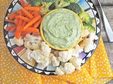Green Goddess Dip ~ Easy Holiday Entertaining with #SundaySupper for #GGHoliday2013