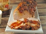 Sweet 'n Spicy Grilled Glazed Pork Tenderloin ~ a @TexasBrew Feature & #Giveaway