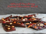 Almond Cranberry Salted Chocolate Bark