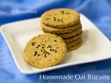 Homemade Oat Biscuits