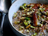 Rye Porridge with Christmas Spices