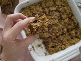 Banana Pumpkin Oat Bars