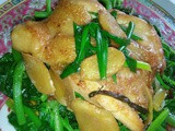 Ezcr#116 - spring onions ginger soy chicken
