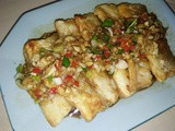 Fried fish in sauce