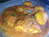 Healthy indian style fish curry