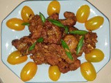 Indian style fried spare ribs