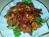Pork ribs with tomato sauce