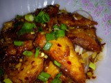 Thai spicy soy fish