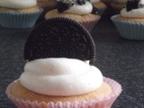 Oreo 'Cookies and Cream' Cupcakes
