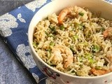 Day 23: Chinese Style Shrimp Fried Rice
