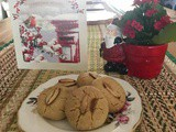 Happy New Year with Crumbly Nankhatais (Indian Shortbread Cookies)