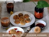Indian Inspired Baked & Healthy Cheese Kebabs with Parmigiano Reggiano