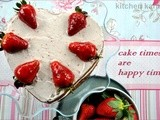 Welcoming Spring With a Strawberry Cake