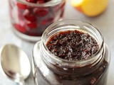 Dry Sour Cherry Apple Jam