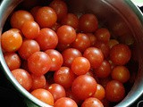 Cherry tomatoes pickle/thokku