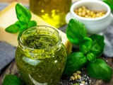 How to Make Italian Basil Pesto