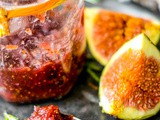 Quick and Easy Fig Jam with Rosemary
