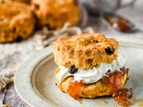 Quick And Easy Mixed Fruit And Nut Scones + Video