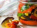 Roasted Mediterranean Vegetables In Olive Oil