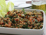 Armenian Grit Salad Recipe