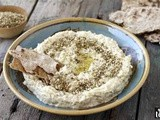 Baba ghannouj with zaatar recipe