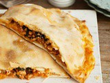 Chicken, spinach and feta pide recipe