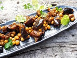 Chickpea and Aubergine Warm Salad Recipe