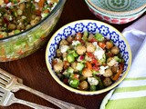 Chickpea and Feta Picnic Salad Recipe