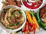 Eggplant and lentil baba ghanoush recipe