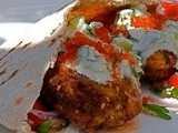 Falafel with Tabouli, Harissa and Sauce Recipe