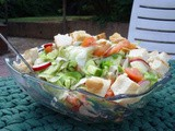 Fattoush - Toasted Bread Salad Recipe