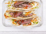 Hot cumin lamb wrap with crunchy slaw & spicy mayo recipe