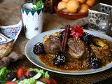 How to make Moroccan veal tajine with plums