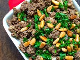 Lebanese Hushwee – Ground Beef with Pine Nuts Recipe
