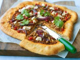 Lebanese lamb pizza recipe