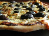 Lebanese Olive Pizza Recipe