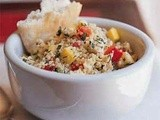 Lemon-Dill Couscous with Chicken and Vegetables Recipe