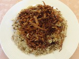 Mdardra (Rice with Lentils) Recipe