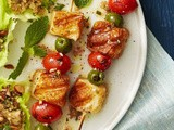 Mediterranean Grilled Cheese Skewers Recipe