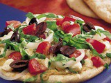 Middle Eastern Pita Pizzas Recipe