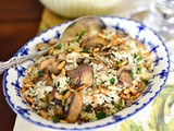 Mom's special lebanese rice recipe