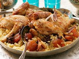 Moroccan Chicken with Couscous Recipe