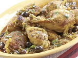 Moroccan Chicken with Olives & Preserved Lemons Recipe