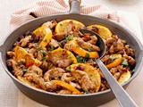 Moroccan-Style Turkey Skillet Recipe