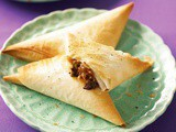 Pizza triangles recipe